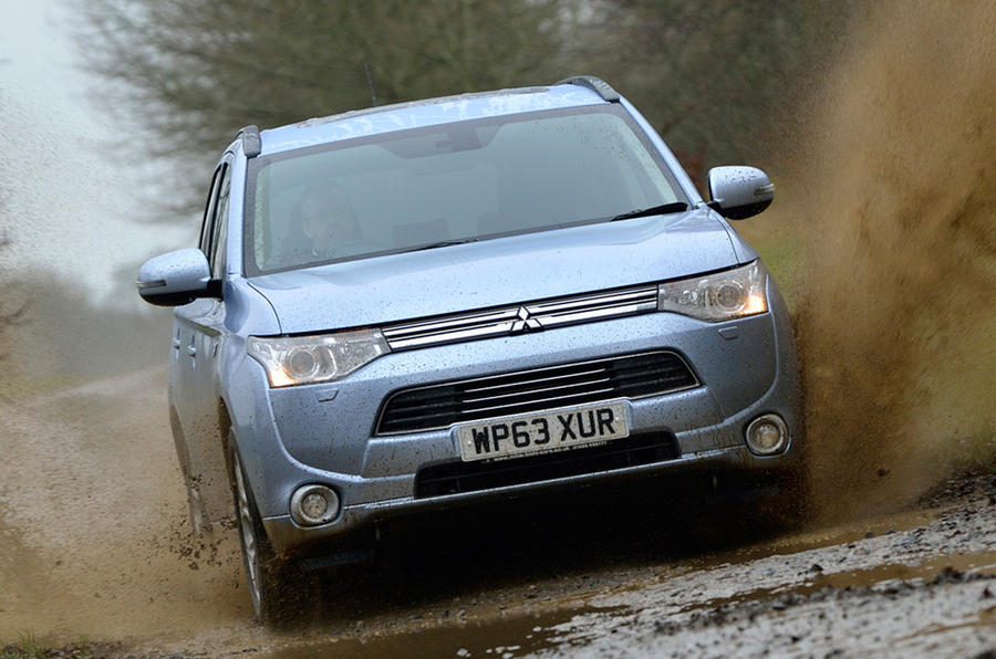 Mitsubishi Outlander PHEV UK first drive review