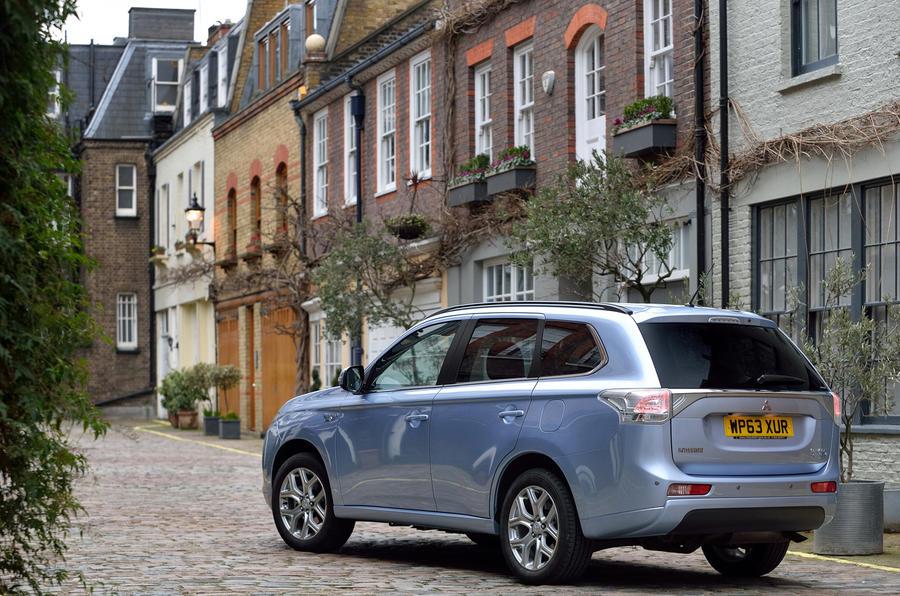Mitsubishi Outlander PHEV rear profile