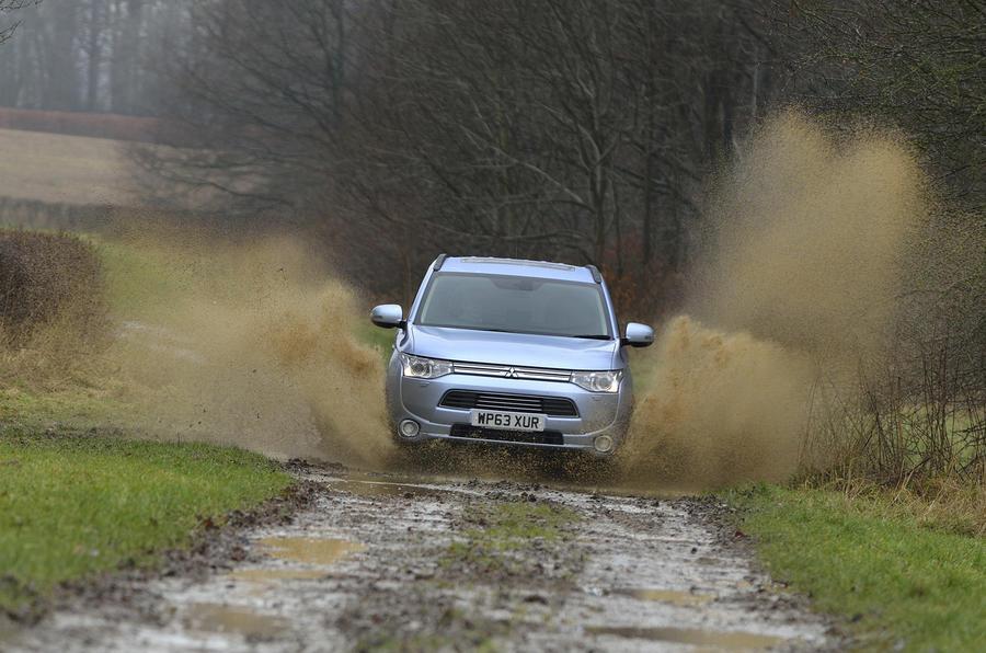Mitsubishi Outlander PHEV off-roading