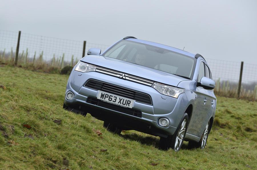 Mitsubishi Outlander PHEV serious off-roading