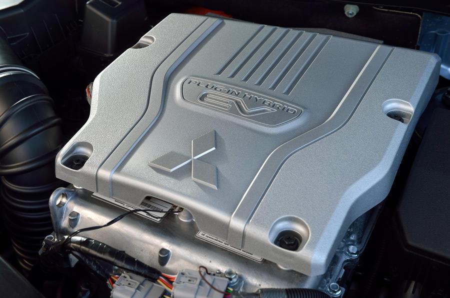 2.0-litre Mitsubishi Outlander PHEV petrol engine