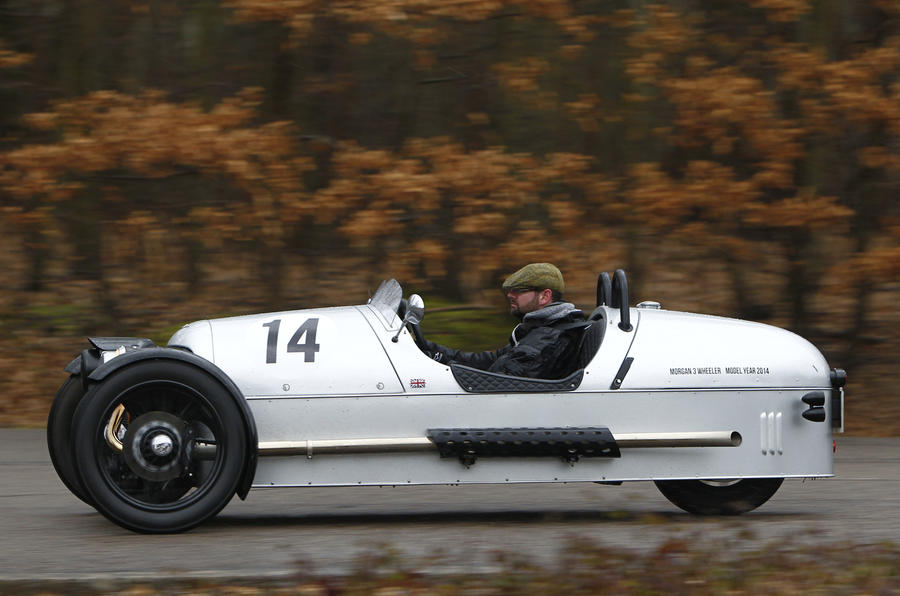 Morgan's updated 3 Wheeler is the perfect modern classic