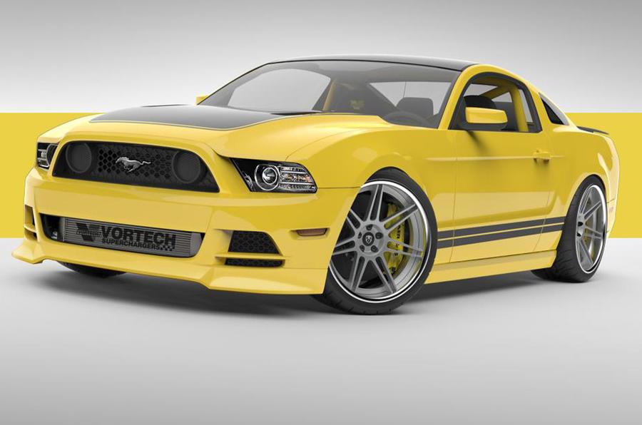 597bhp Mustang to debut at SEMA show