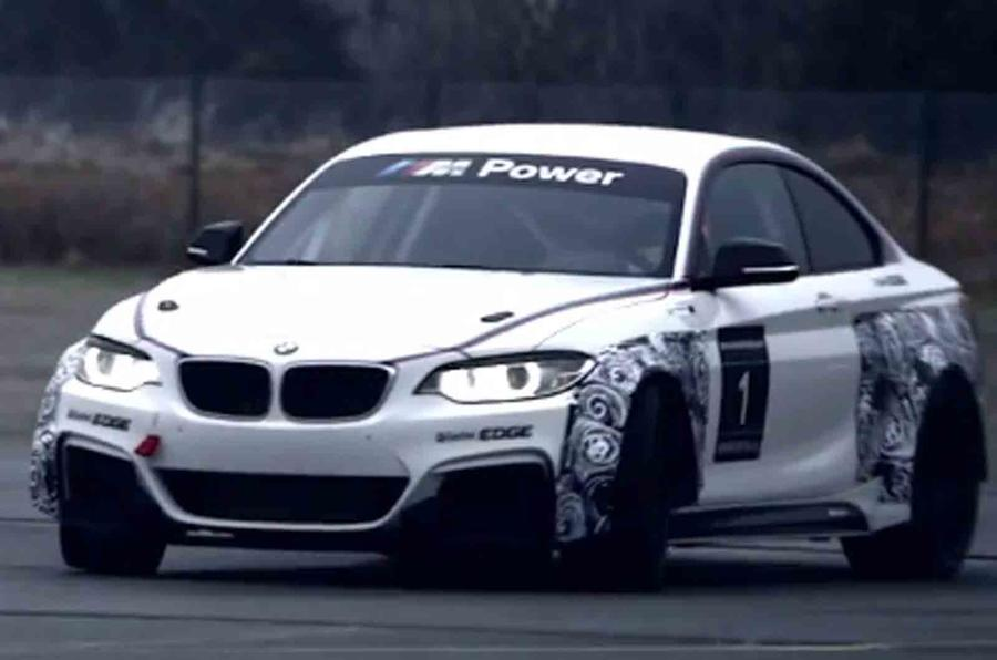 BMW M235i Racing shown in new video