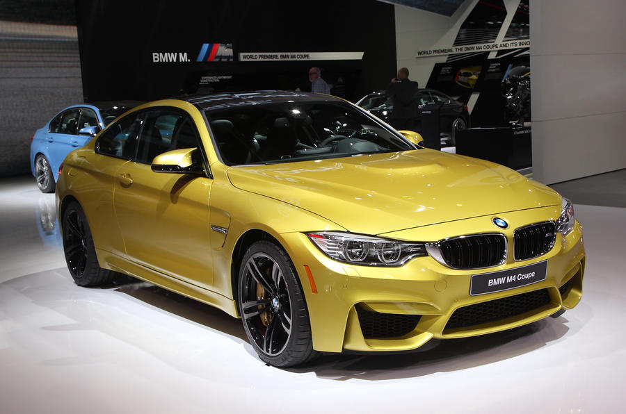 BMW M4 seen early in Detroit