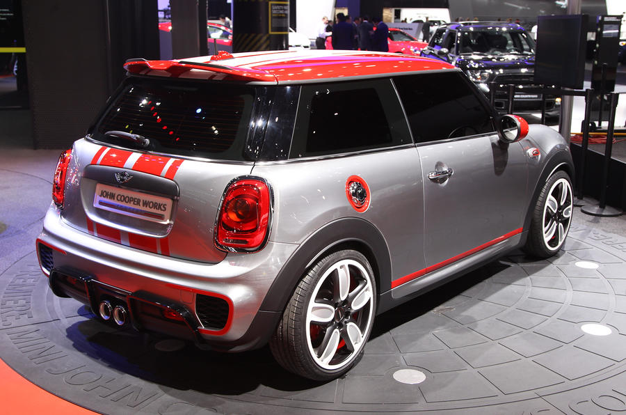 Mini John Cooper Works concept gets Detroit launch