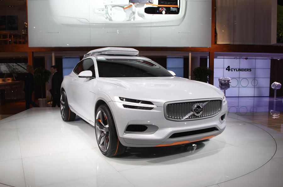 New XC90 hinted in Volvo Concept XC Coupé