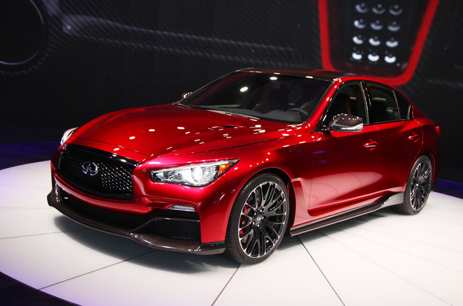 Infiniti plots two performance flagship models