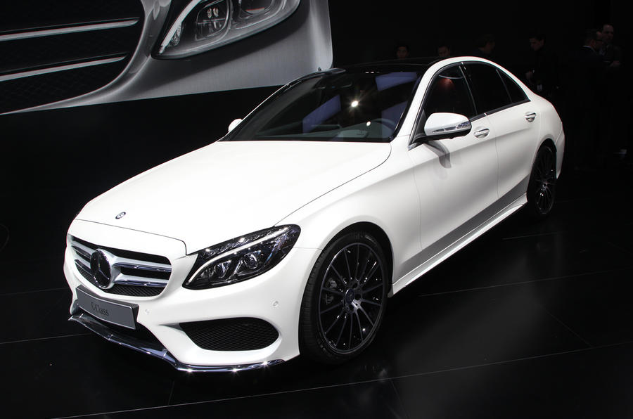 2014 Mercedes-Benz C-class revealed