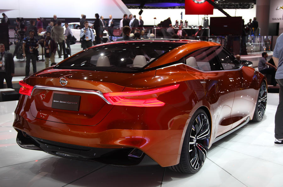 Nissan Sport Sedan teases next Maxima