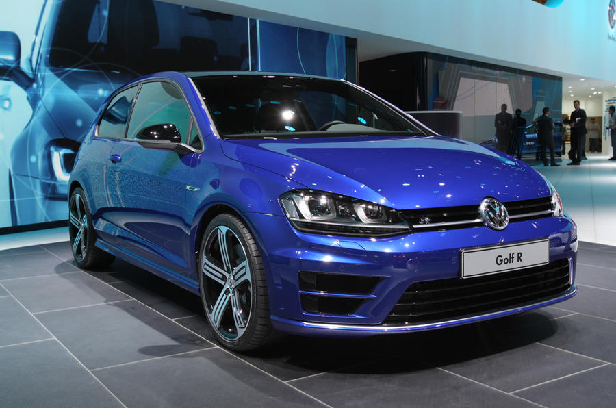 Volkswagen Golf R shown in Detroit
