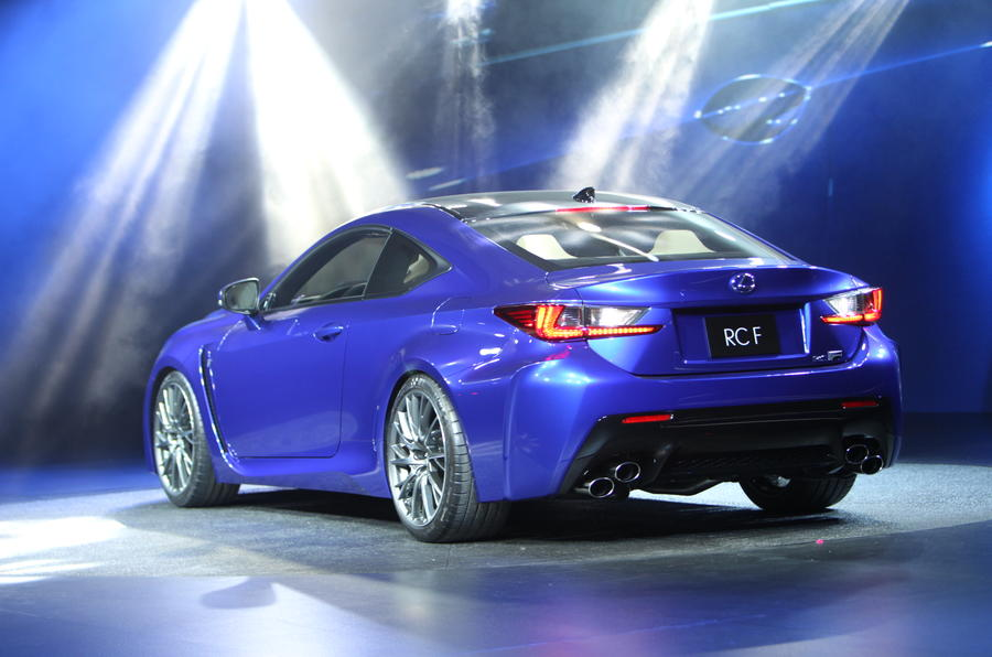New Lexus RC-F coupe revealed in Detroit