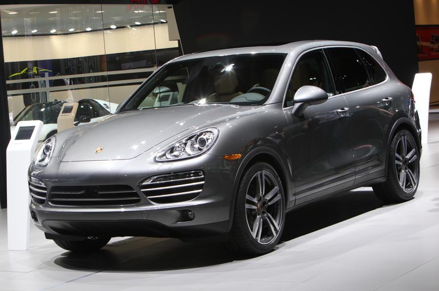 American premiere for Porsche Cayenne Platinum