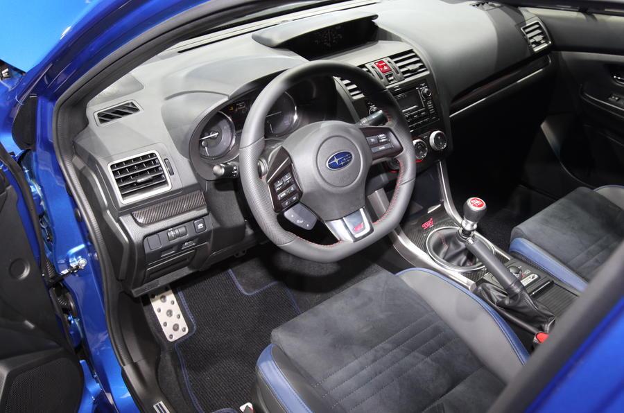 Subaru WRX STI gets Detroit premiere
