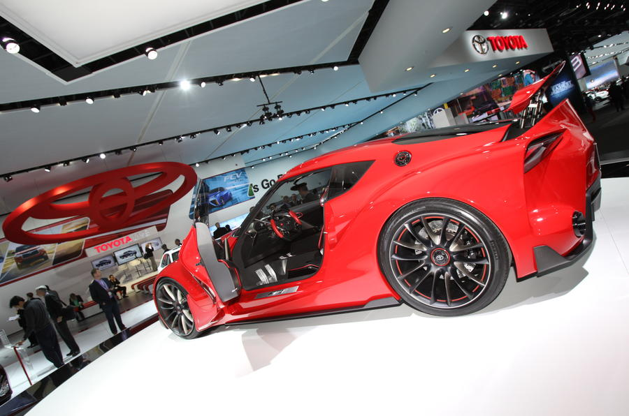Toyota FT-1 concept unveiled in Detroit