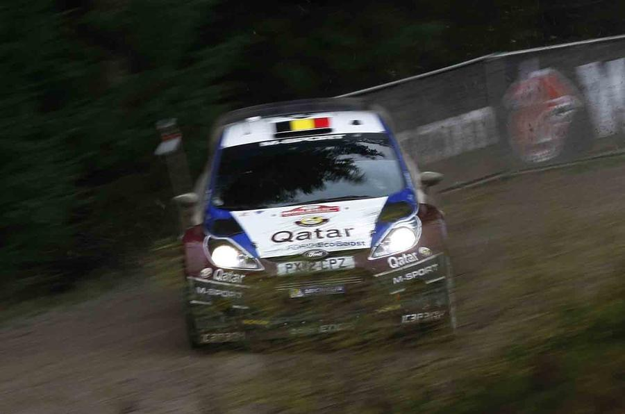 Wales Rally GB day one: The rhythm of the night stages