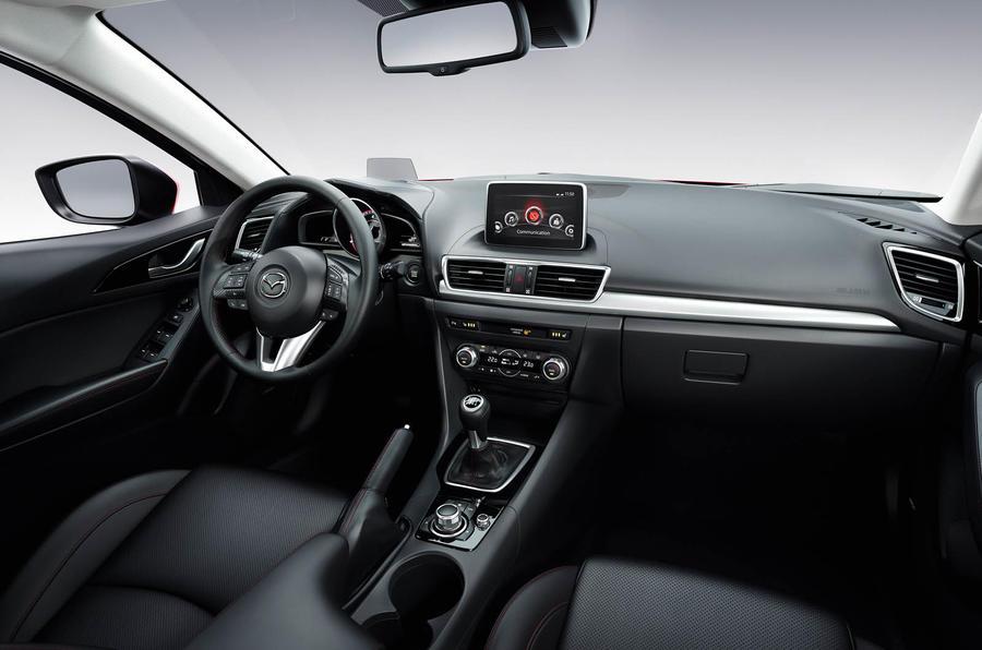 Mazda 3 prototype interior