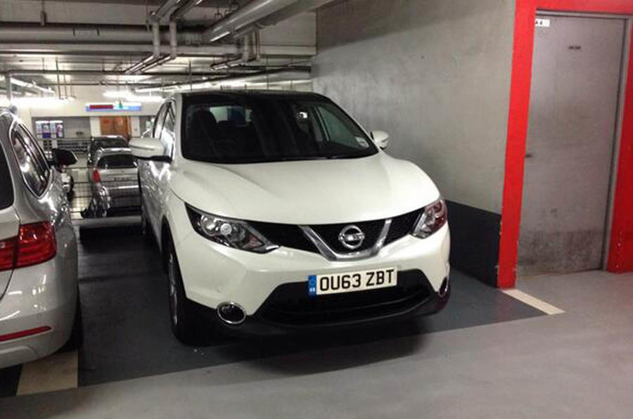 Nissan Qashqai to Istanbul, day one
