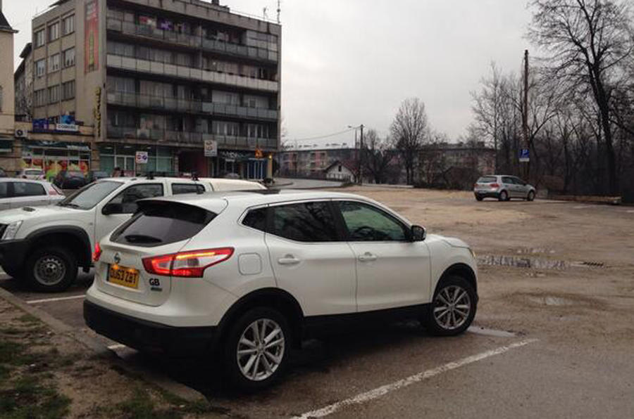 Nissan Qashqai from Sunderland to Istanbul, day four