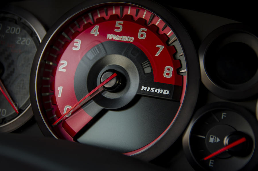 Nissan GT-R Nismo rev counter