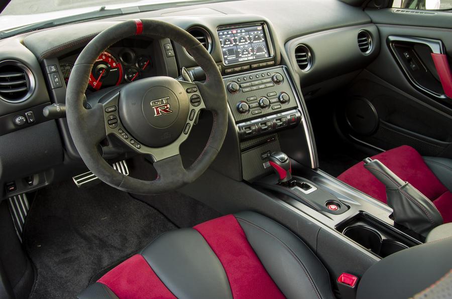 Nissan GT-R Nismo dashboard