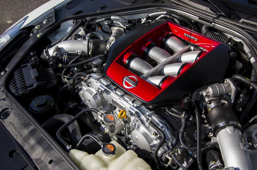 3.8-litre Nissan GT-R Nismo engine