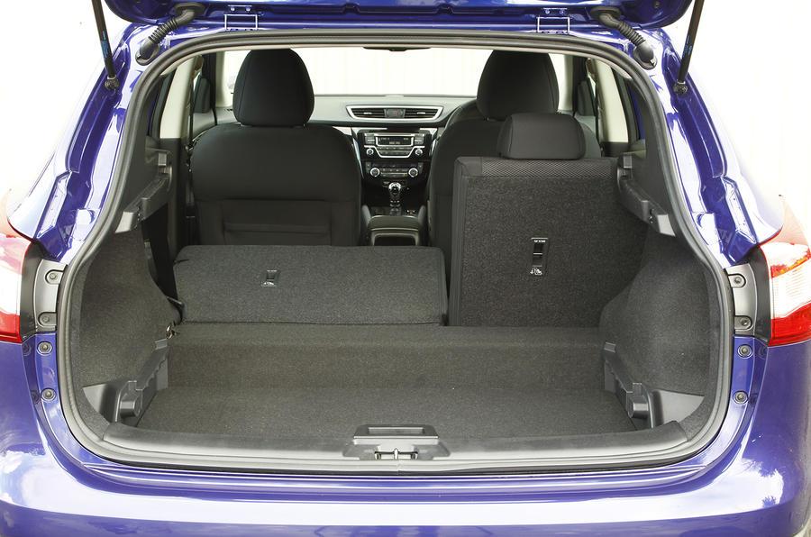 Nissan Qashqai seat flexibility