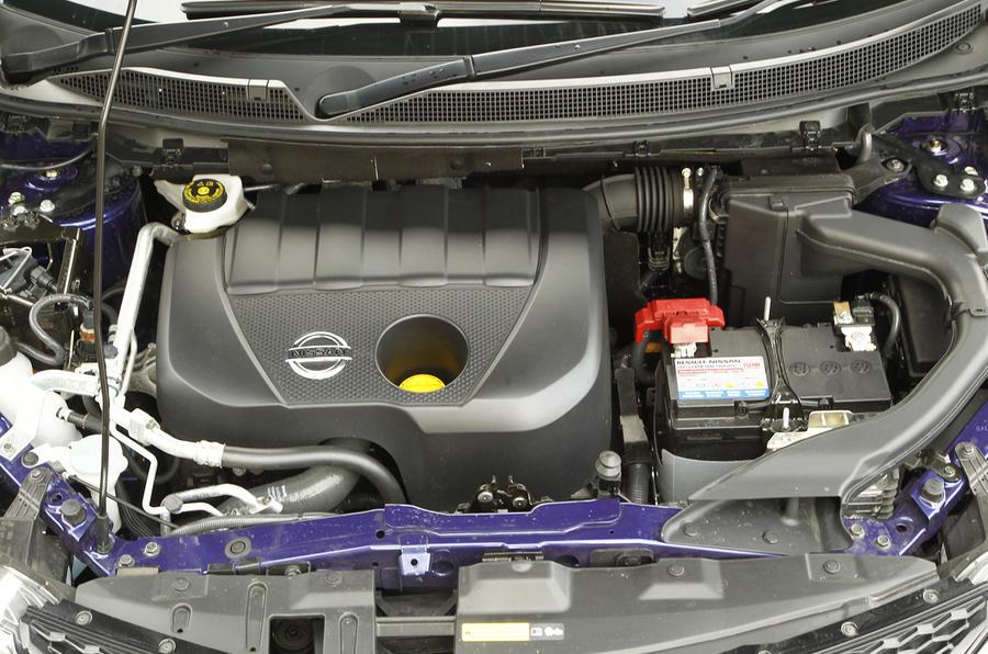 1.5-litre Nissan Qashqai turbodiesel engine