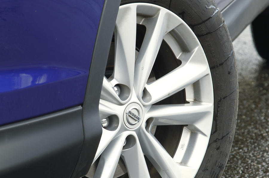 17in Nissan Qashqai alloy wheels