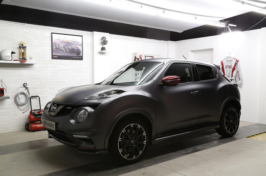 New Nissan Juke Nismo RS gets 215bhp