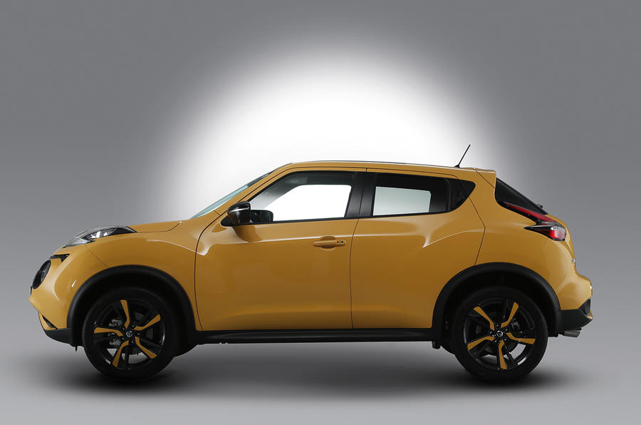 Facelifted Nissan Juke gets new engine and updated looks
