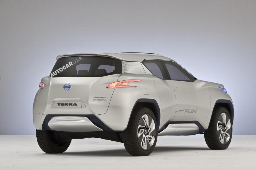 Paris Motor Show 2012 Nissan Terra Autocar