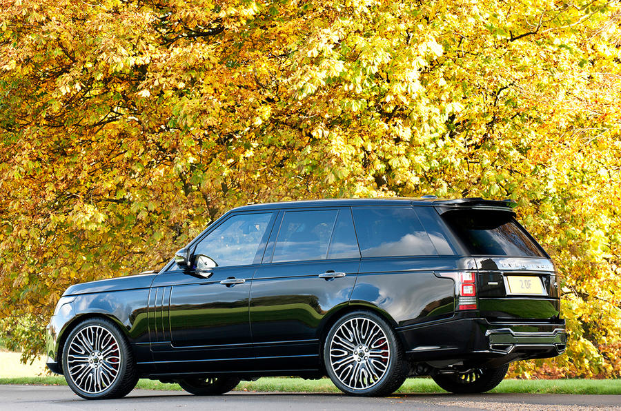 New Overfinch Range Rover Revealed Autocar