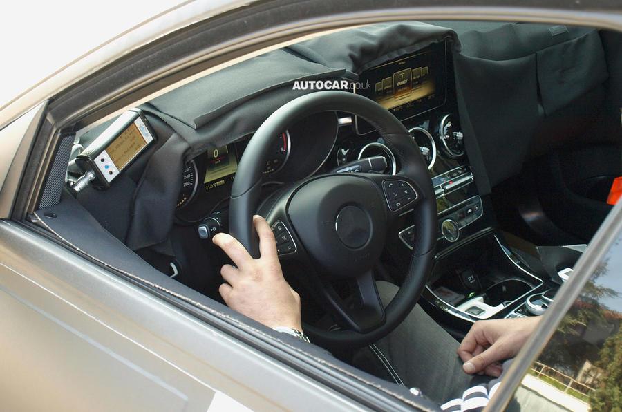 New Mercedes C-class interior revealed