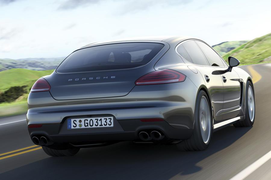 Porsche Panamera S rear