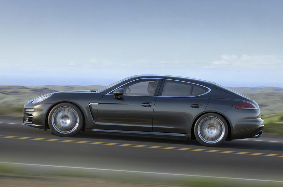 Porsche Panamera S side profile