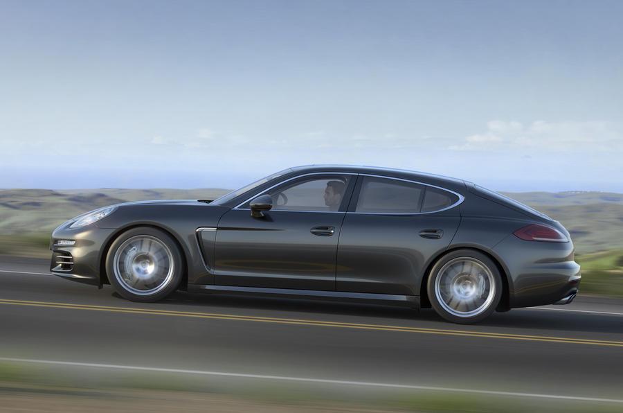 Porsche Panamera S side profile