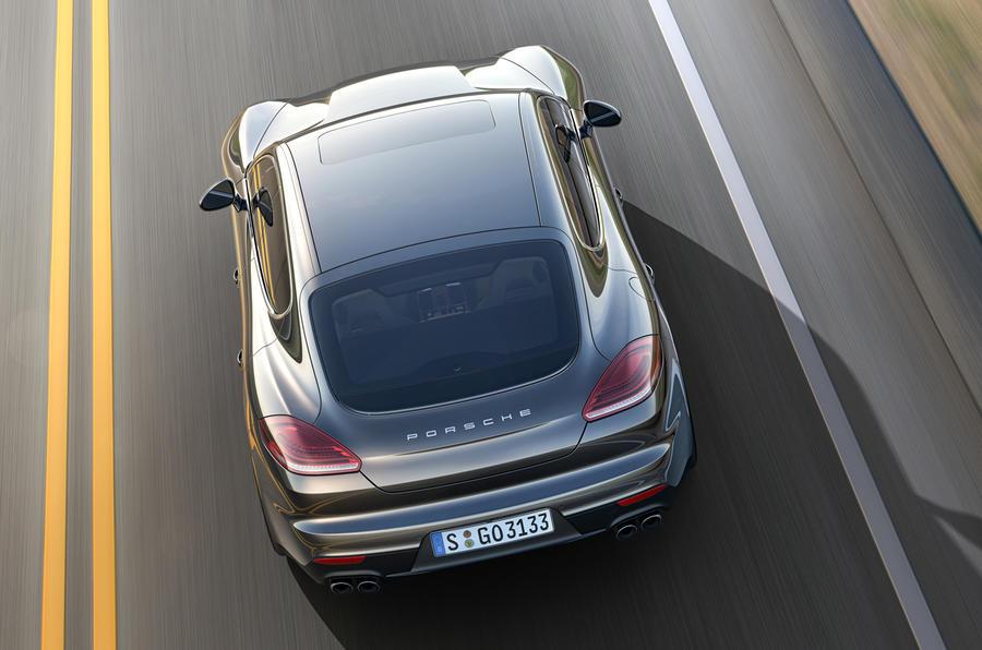 4 star Porsche Panamera S