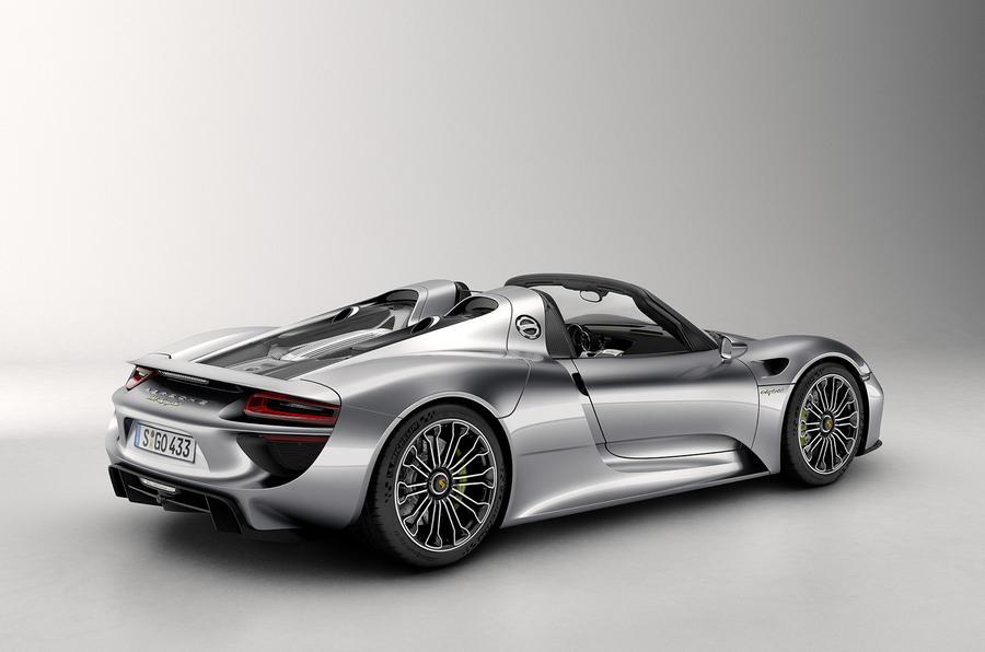 Porsche 918 spyder production