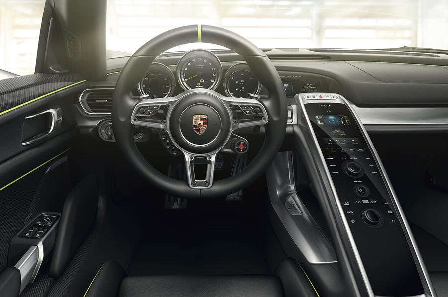 Porsche 918 Spyder enters production