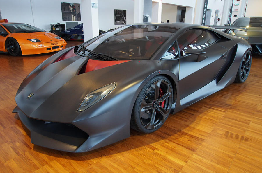 A tour of Lamborghini's museum - picture specialLamborghini Reventon