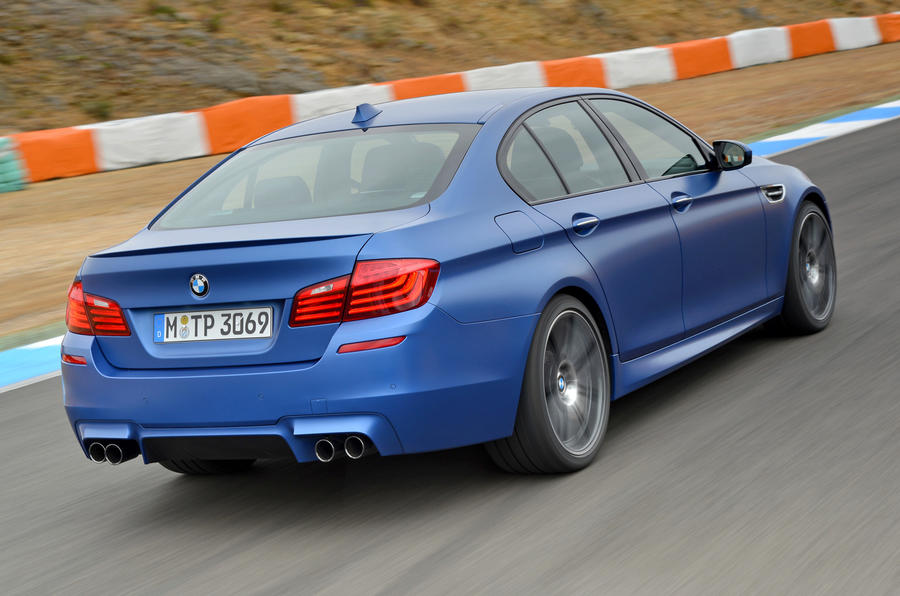 BMW M5 Competition Package rear