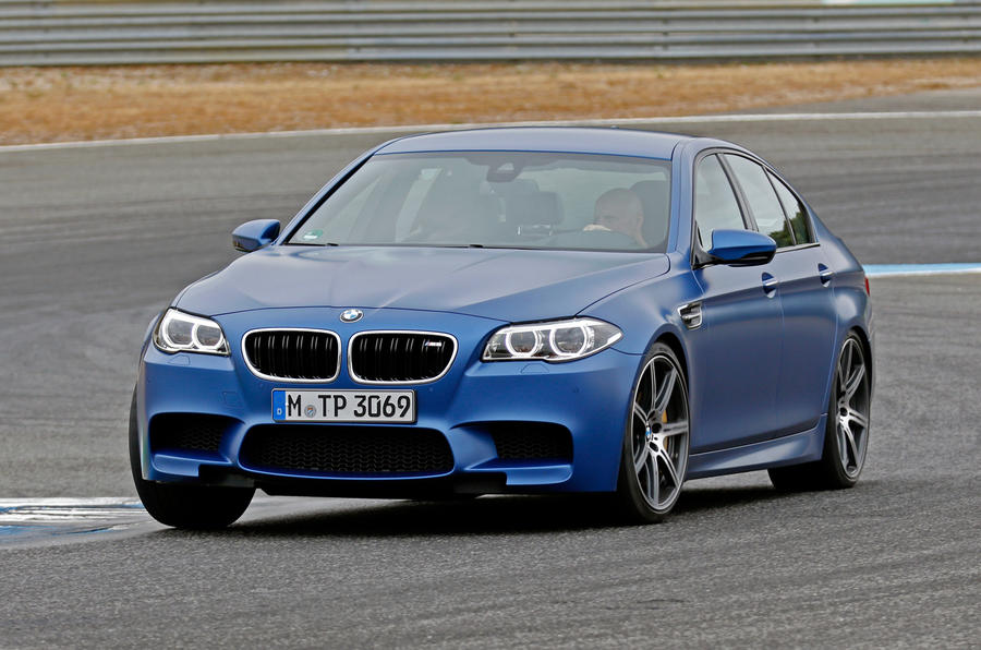 BMW M5 Competition Package cornering