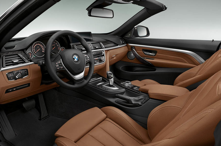 BMW 428i Luxury Convertible interior