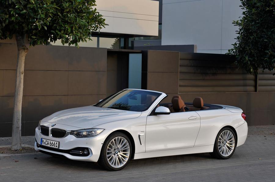 3 star BMW 428i Luxury Convertible
