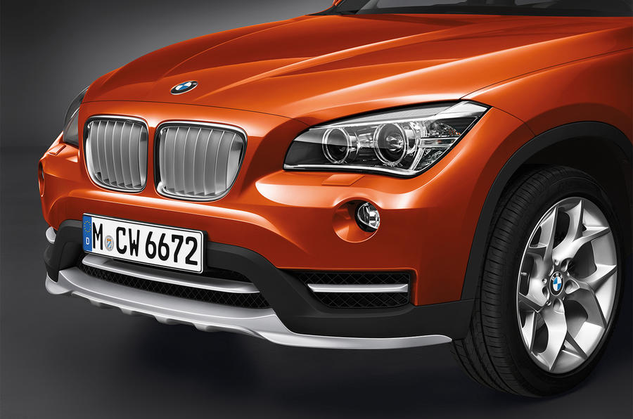 Revised BMW X1 gets Detroit motor show debut