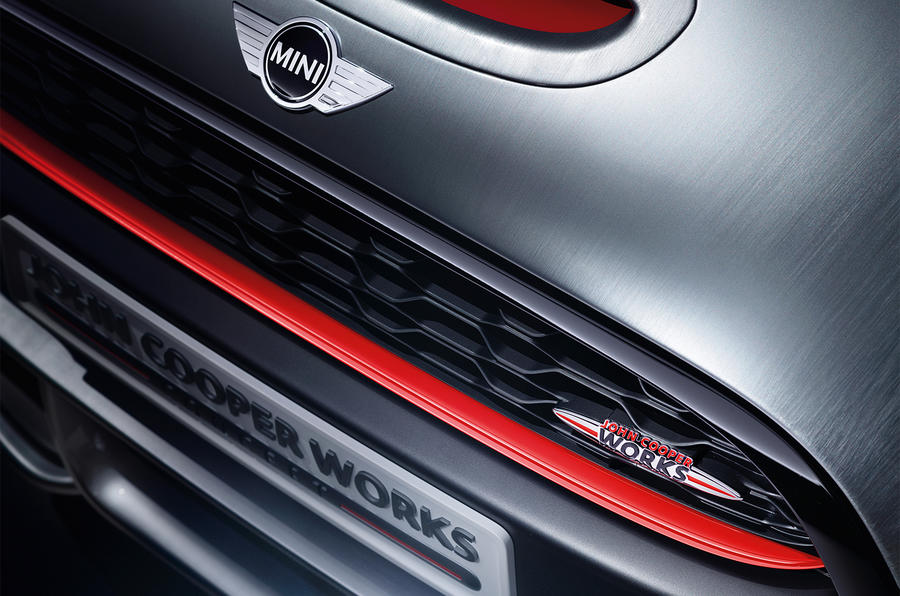 Mini reveals John Cooper Works concept for Detroit motor show