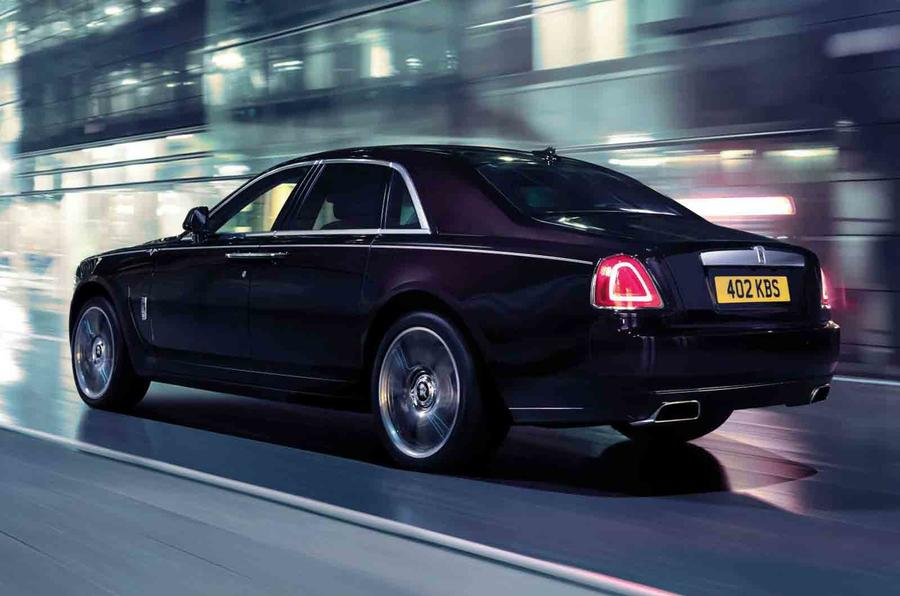 Rolls-Royce celebrates sales record with new Ghost