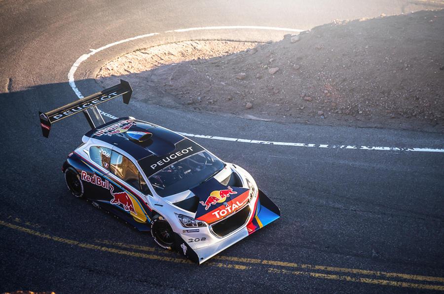 Loeb dominates qualifying at Pikes Peak
