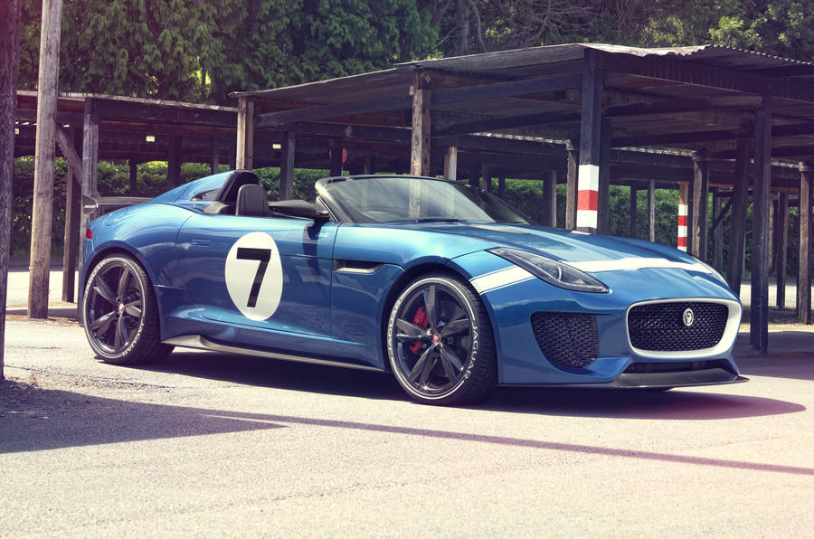 Jaguar Project 7 to inspire 'future projects'